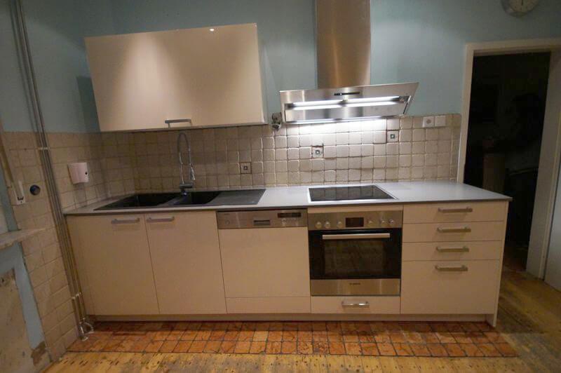 Altbau Küchenzeile