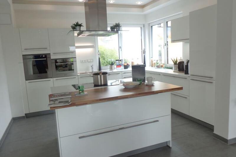 Offene Wohnküche Trebur - Küchen Knodt Nauheim